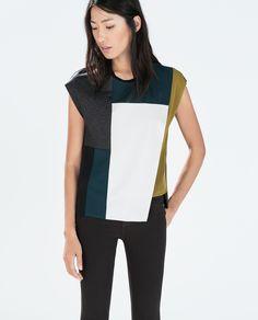 Image 1 of SLEEVELESS T-SHIRT from Zara