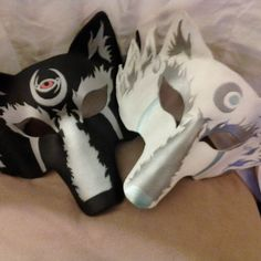 Custom Wolf Masks by gamersheaven on Etsy Wolf Mask, Trending Outfits, Unique Jewelry, Handmade Gifts, Masks, Vintage, Etsy, Kid Craft Gifts, Craft Gifts
