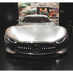 What are you looking at? Discover the Mercedes-Benz AMG Vision Gran Tourismo live at this year's #IAA2015 in Frankfurt, Germany. Photo via @srcreativity