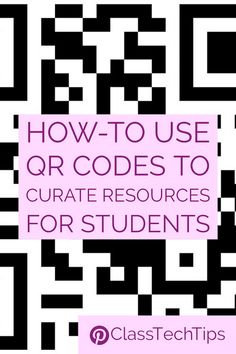 How can you curate resources with QR codes? Follow these quick steps to place handpicked content onto your students' screens.