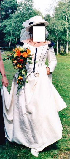 English style weddingdress