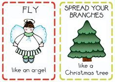Book Advent: Day 20 {Christmas Action Cards} | Oopsey Daisy