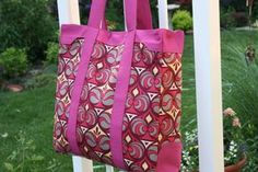 I am completely addicted to sewing bags! I have tried my hand at many handbag patterns and thought it was about time to write my own! I'd like to introduce you to the Naughty Secretary Bag! I'm not really sure how I arrived at this name…it just popped into my head, lol. At a generous …
