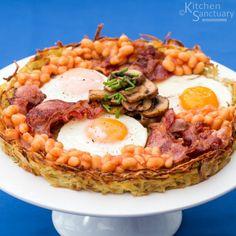 Hashbrown, Breakfast, Mother's day, brunch, gluten free, Hashbrown cups, Breakfast bake, eggs, bacon, mushrooms