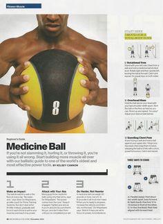 Medicine Ball workout from @MensHealthMag