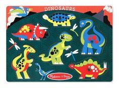 Dinosaurs & Pegs, Say NO More!!  Melissa & Doug Dinosaurs Peg Puzzle Melissa & Doug http://www.amazon.com/dp/B004NHQS7A/ref=cm_sw_r_pi_dp_JZQ5tb1N8YCVJ