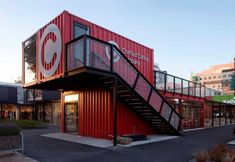 Café in Containers - Crafted Coffee Company