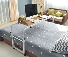 For those whom getting out of bed can be a challenge, this would allow us to work from home!