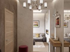 Интерьер холла Oversized Mirror, Divider, Room, Furniture, Home Decor, Ideas, Houses, Bedroom, Rooms