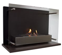 small wall fireplace