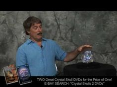 """Bill Homann & the Mitchell Hedges Crystal Skull. This skull was also """"read"""" by a proven medium. I encourage you to find & read """"A Skull Speaks"""" for a fascinating extension of the mysteries of the crystal skulls."""