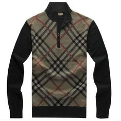 Burberry Black Cashmere Sweater 2014-2015 BS006