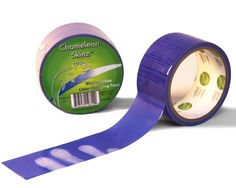 Chameleon Skinz - Blue to White Color Changing Tape 1.88 in by 10 yds
