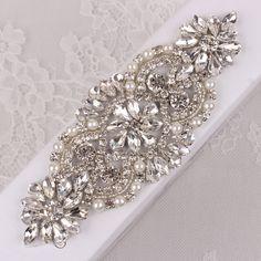 Sew-On Rhinestones for Formal Dress