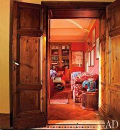 Una casa rústica en la Toscana