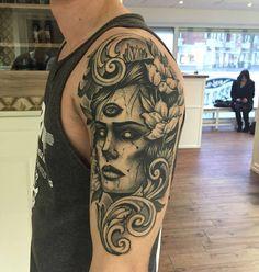 Guest artist - Jakob Holst Rasmussen @ Dublin Ink #tattoo #art #Dublin #Ireland
