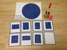 Find the Constellations activity (and more ideas for an astronomy unit)