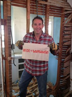 Josh Temple loves Made + Remade! >> http://blog.diynetwork.com/maderemade/?soc=pinterest