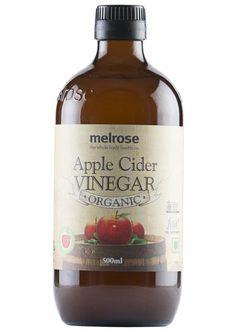 Organic Apple Cider Vinegar, Melrose (500ml)
