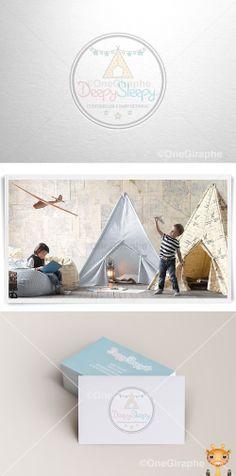DeepySleepy #tent #pattern #sleep #sleepy #stars #craft #baby #logo #logodesign #cute #sleep #sleepy #graphic #design #designer #portfolio #behance #logopond #brandstack #sweet #store #kids #children #parents #mom #dad #logodesign #design #designer #brand #brandidentity