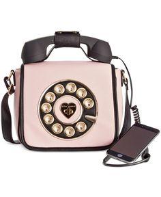 Betsey Johnson Phone Crossbody – All Handbags – Handbags & Accessories – Macy's Betsey Johnson Phone Crossbody – Alle Handtaschen – Handtaschen & Accessoires – Macy's Unique Purses, Unique Bags, Cute Purses, Cheap Purses, Cheap Bags, Luxury Handbags, Purses And Handbags, Cheap Handbags, Popular Handbags