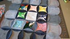 How to Make a Jean Circle Quilt