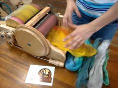 How to make a smooth batt on an Ashford Drum Carder