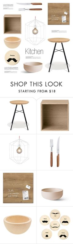 """Wooden Items"" by lovethesign-eu ❤ liked on Polyvore featuring interior, interiors, interior design, home, home decor, interior decorating, Universo Positivo, Muuto, Pott and Menu"
