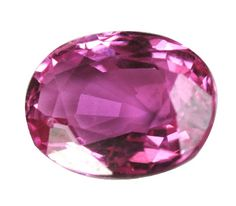 Saphir rose - pierre précieuse rose