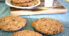 Ben & Jerry's Recipe: Giant Chocolate Chip Cookies --- Chocolate Chip Cookie Dough may get all the attention, but let's not forget what cookie dough is also good for: cookies! We like our chocolate chip cookies moist, chunky and BIG.  Throw a scoop of Chocolate Chip Cookie Dough ice cream in between two of these for a real treat.