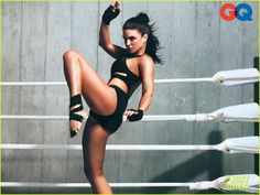 Gina Carano gets ready to kick some butt in this photo shoot from GQ's January issue. The 29-year-old mixed martial artist and ex-American Gladiator