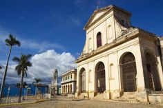 Cuba. Iglesia Parroquial de la Santisima (Holy Trinity Church) in Plaza Mayor, by Rachel Lewis