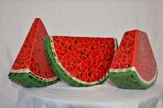 Mosaic watermelon