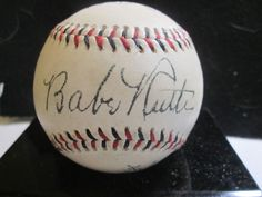 Babe Ruth & Ty Cobb Novelty/Replica 1933 Autographed Baseball