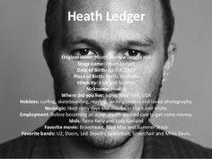 Image result for heath ledger silverchair