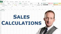*Excel Sales Calculation* Peter Kalmstrom shows step by step how to create Excel formulas that calculate sales profits. VAT and discounts are included in the calculations. Also refer to http://www.kalmstrom.com/Tips/ExcelCalculateSales.htm