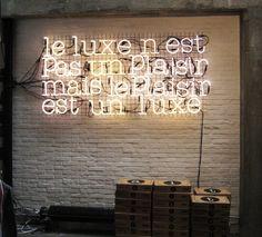 luxury isn't a pleasure, but pleasure is a luxury–Francis Picaba