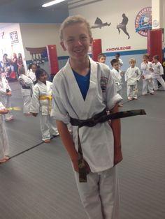 Congrats Noah on your Camo Belt! #belts #testing #karate #promartialarts #pittsburgh