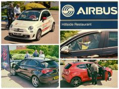 Great day out at #Airbus Filton yesterday! Lots of interest in our stunning #Italian cars!