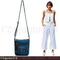 Un fuerte y claro sí al #denim ★ #bolso: 11'95 € en http://www.conjuntados.com/es/bolsos/bolsos-bandolera/bolso-bandolera-en-denim.html ★ #novedades #handbag #bandolera #bolsobandolera #purse #crossbodybag #lowcost #conjuntados #conjuntada #accesorios #complementos #moda #fashion #fashionadicct #picoftheday #outfit #estilo #style #GustosParaTodas #ParaTodosLosGustos