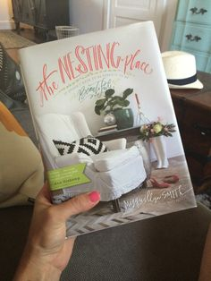 Jen Hatmaker - Before/After Pics of My New Office...And My Muse