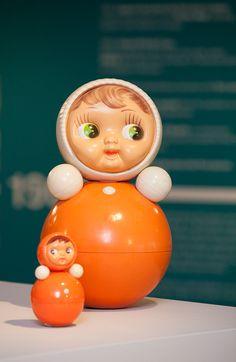 Nevalyashka Doll (Courtesy GRAD and Moscow Design Museum and AMOZIL) Photo by Sophia Schorr-Kon