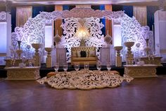 Love is a bella themed Indian reception decor by by Spotlight Vendor @gpsdecors