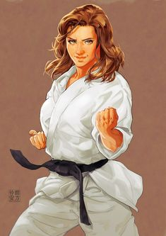 Portrait Commissions There are real person based on, please DO NOT treat this post in bad manner. Martial Arts Anime, Martial Arts Women, Karate, Character Poses, Character Art, Kendo, Aikido, School Painting, Art Rules
