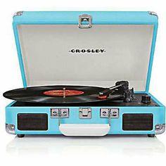 Crosley Radio Crusier Vinyl Record Player, Turquiose- from Staples.com