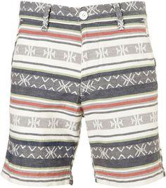 Topman Multi Woven Aztec Shorts in Multicolor for Men (multi)