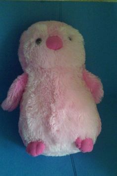 "12"" Destination Nation Pink Penguin Plush Stuffed Animal Toy - New #Aurora"