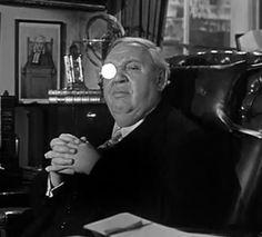 """Charles Laughton en """"Testigo de Cargo"""", 1957"""