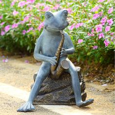 Connoisseur Frog Garden Sculpture/Bluetooth Speaker | For The Home |  Pinterest | Gardens, Frogs And Speakers