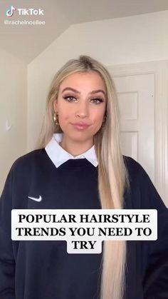 Hair Streaks, Hair Highlights, Color Streaks, Easy Hairstyles For Long Hair, Cute Hairstyles, Beach Hairstyles, Ponytail Hairstyles, Hairstyle Ideas, Wedding Hairstyles